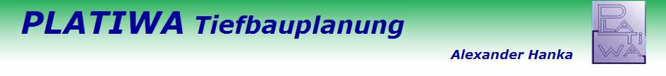 PLATIWA Tiefbauplanung